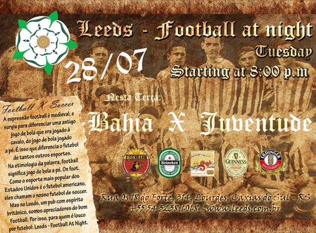 Leeds - Bahia X JU