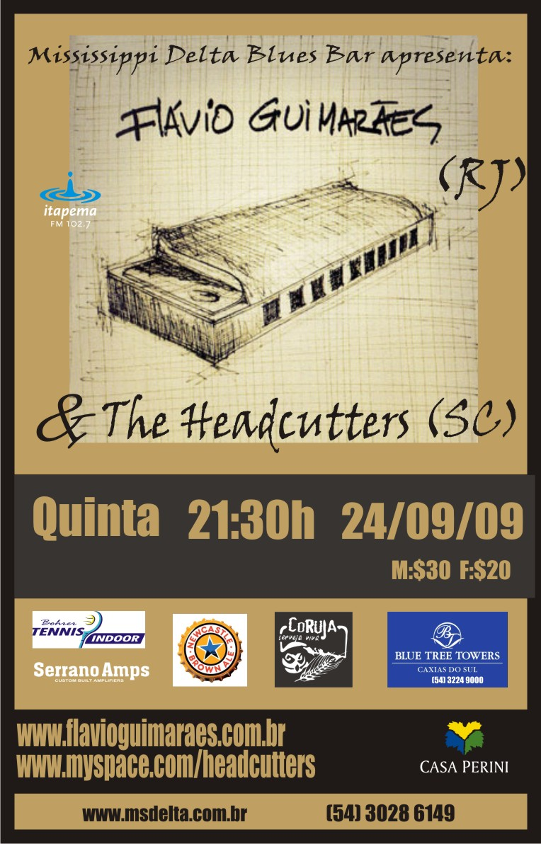 Flávio Guimarães & The Headcutters 09 09