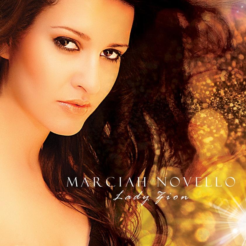 1 Capa CD Lady Zion, de Marciah Novello